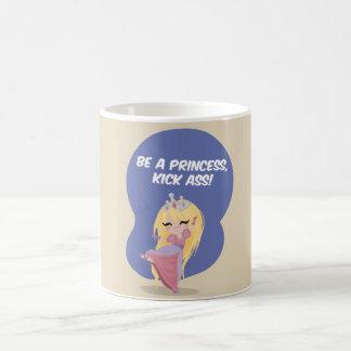 Be a princess, kick ass! - Mug