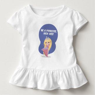 Be a princess, kick ass! - Toddler Toddler T-Shirt