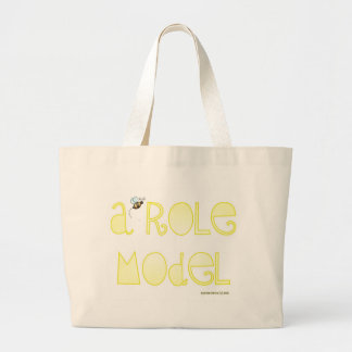 Be A Role Model - A Positive Word Jumbo Tote Bag