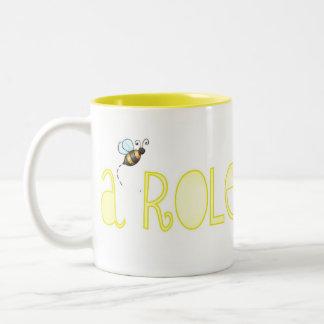 Be A Role Model - A Positive Word Two-Tone Mug