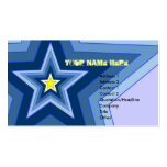 Be A Star Business Card