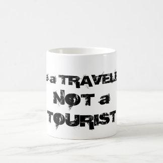 Be a Traveler Not a Tourist Mug
