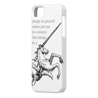 Be a unicorn CC0228  iPhone 5 Case