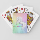 Be A Unicorn Playing Cards