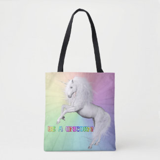 Be A Unicorn Tote Bag