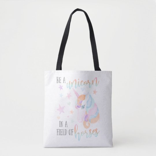 'Be A Unicorn' Tote Bag