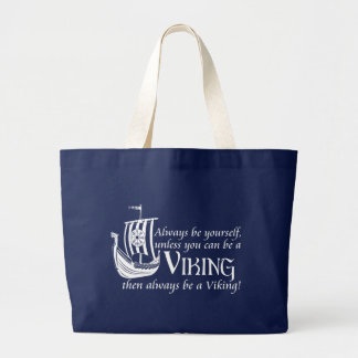 Be A Viking! Canvas Bags