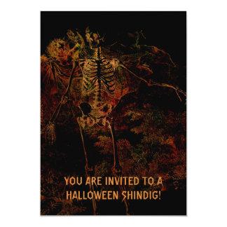Be Afraid, Be Very Afraid! 13 Cm X 18 Cm Invitation Card
