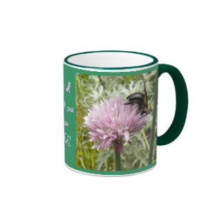 Be all that you can BEE! Ringer Mug