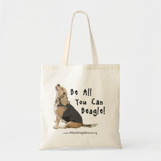 Be All You Can Beagle Tote Bag
