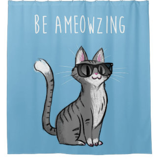 Be Ameowzing Shower Curtain