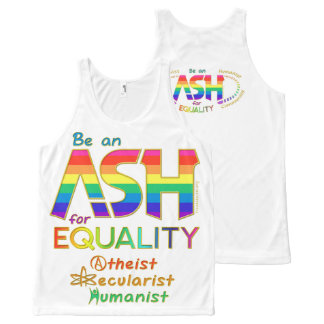 Be an ASH for Equality All-Over Print Tank Top
