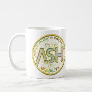 Be an ASH for Equality Basic White Mug
