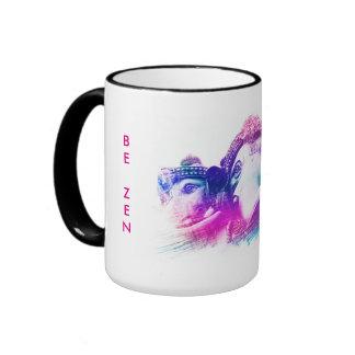 BE Awake - BE Zen Ringer Mug