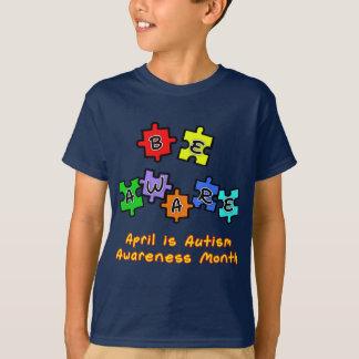 BE AWARE - April is Autism Awareness Month T-Shirt