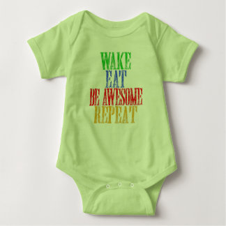 Be Awesome! Baby Bodysuit