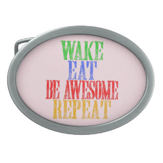 Be Awesome! Belt Buckle