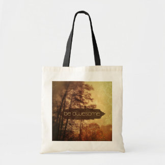 Be Awesome Budget Tote Bag