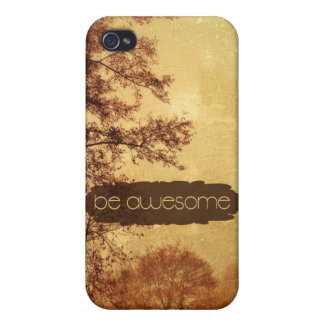Be Awesome iPhone 4 Covers