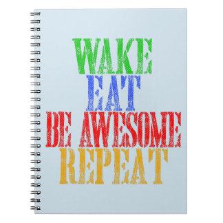 Be Awesome! Notebooks