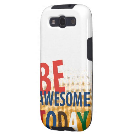 be awesome today galaxy SIII cover
