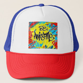 Be Awesome Trucker Hat