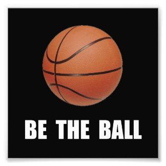 Be Ball Basketball Photograph