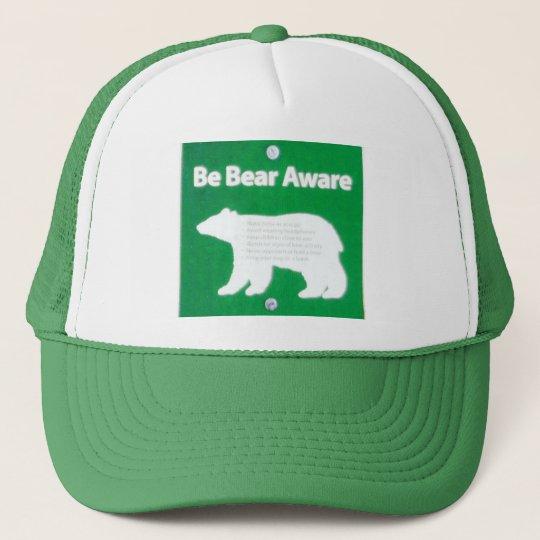 Be Bear Aware Cap