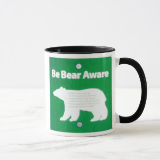 Be Bear Aware Mug