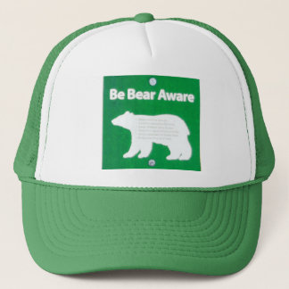 Be Bear Aware Trucker Hat