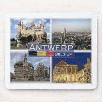 BE Belgium - Antwerp - Het Steen - Cathedral Mouse Mat