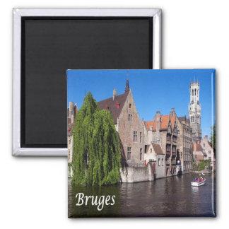 BE - Belgium - Bruges - Canal Square Magnet