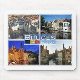 BE Belgium - Bruges - De Burg - Mouse Mat