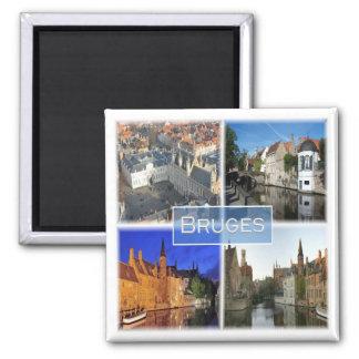 BE * Belgium - Bruges Magnet