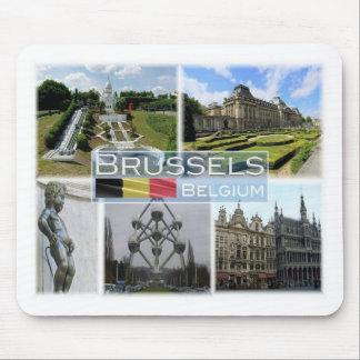 BE Belgium - Brussel - Mini Europe - Manneke Pis - Mouse Mat