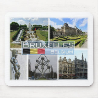 BE Belgium - Bruxelles - Mini Europe - Mouse Mat