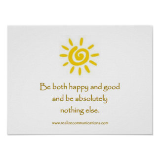 Be Both Happy and Good POSTER