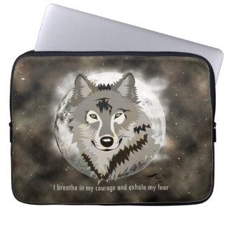Be brave laptop sleeve