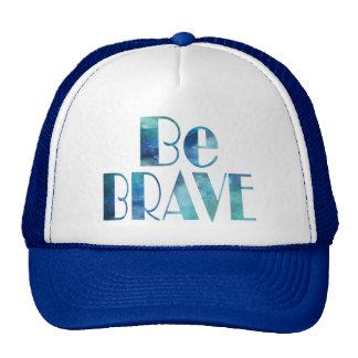 BE BRAVE -OCEAN SUMMER CRUSH CAP