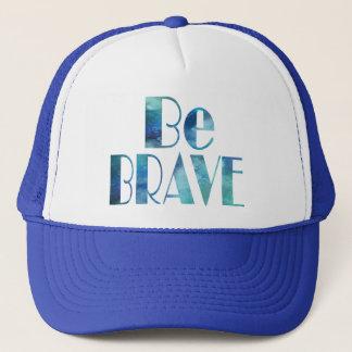 BE BRAVE -OCEAN SUMMER CRUSH TRUCKER HAT