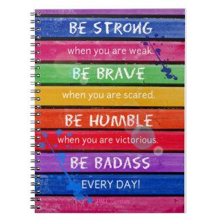 Be Brave - Spiral Journal
