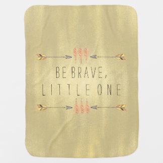 Be Brave Tribal Arrow Baby Baby Blanket