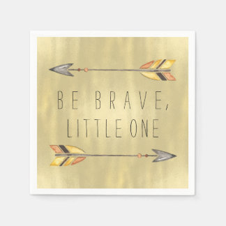 Be Brave Tribal Baby Shower Paper Napkins