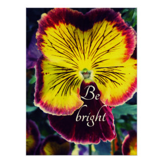 Be Bright Poster