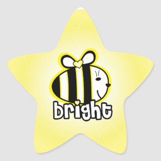 BE BRIGHT sticker