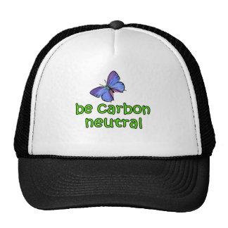 Be Carbon Neutral Hats
