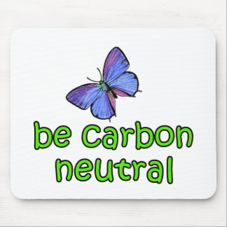 Be Carbon Neutral Mouse Pad
