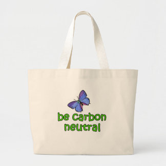 Be Carbon Neutral Jumbo Tote Bag