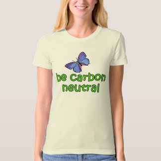 Be Carbon Neutral with Butterfly T-Shirt