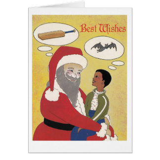be careful what you wish for! greeting card